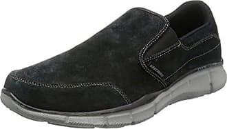 Skechers Volden-Fandom, Sneaker Uomo, Nero (Black Blk), 41 EU