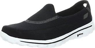EZ Flex 2 Make Believe, Zapatillas para Mujer, Negro (BKW), 35.5 EU Skechers