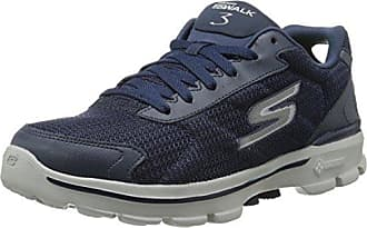 Skechers Flex Advantage Tune In, Sneaker uomo, Blu (Navy/Orange), 40