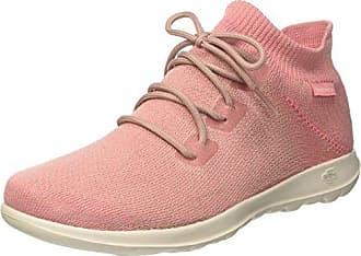 Skechers Go Walk Lite-Rise, Zapatillas sin Cordones para Mujer, Rosa (Pink), 35.5 EU