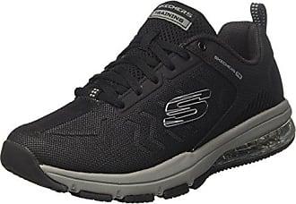 Skechers Flex Advantage 1.0-Zizzo, Sneaker Uomo, Nero (Black/Lime), 46 EU