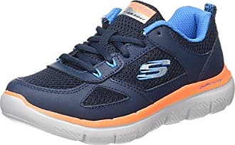 Skechers Flex Advantage 2.0-Cravy, Zapatillas para Niños, Azul (Navy/Grey), 33 EU
