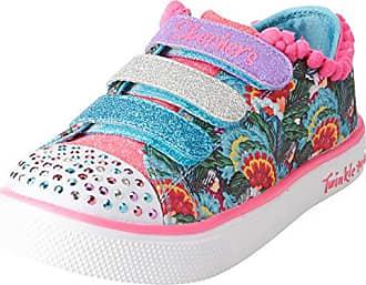 Skechers Diamond Runner, Zapatillas de Running para Niñas, Rosa (Light Pink), 28.5 EU