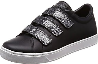 Skechers Unity-Transcend, Zapatillas sin Cordones para Mujer, Negro (Black/Charcoal), 38 EU
