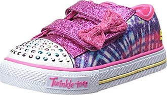 Skechers Go Walk, Zapatillas para Niñas, Varios Colores (Lavender/Multicolour), 22 EU