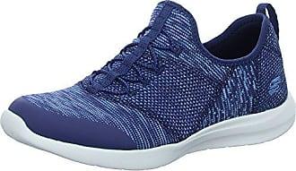 Skechers Damen Empire-Sharp Thinking Slip on Sneaker, Blau (Navy/Pink), 36 EU