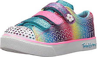 Skechers Twinkle Breeze 2.0-Character, Zapatillas para Niñas, Varios Colores (Hot Pink/Multicolour), 28.5 EU