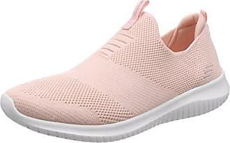 Summits, Sneaker Donna, Grigio (Grey/Pink), 37 EU Skechers