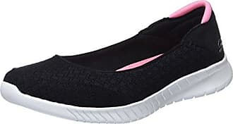 BlackWhite Skechers Philosophy Noir Baskets 36 WaveLitePretty Femme n6Hq6CO
