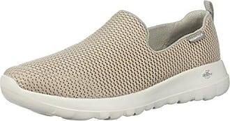 Skechers Vont Marcher Joie, Des Chaussures Des Femmes Sans Lacets, Gris (charbon De Bois), 35 Eu