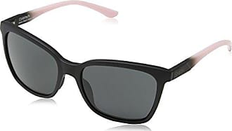 SMITH femme LOOKOUT EE D28 57 Montures de lunettes, Noir (Shiny Black/Grey Polarized)