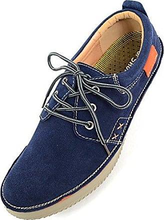 SNUGRUGS Damen/Damen Leder Smart/Casual/Sommer-Schuhe, Schwarz - Schwarz - Größe: 40.5