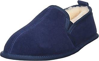 HIRSCHKOGEL 1904500, Zapatillas de Estar por Casa para Mujer, Azul (Dunkelblau 017), 38 EU