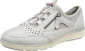 23763, Zapatillas para Mujer, Plateado (White/Silver), 40 EU Soft Line