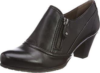 24666, Mocasines para Mujer, Negro (Black 001), 39 EU Soft Line