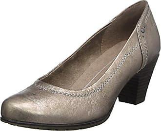 22366, Zapatos de Tacón Para Mujer, Beige (Lt. Taupe), 36 EU Soft Line