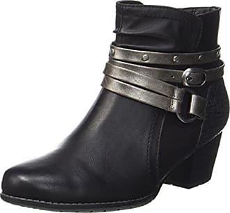 Softline Damen 25660 Stiefel, Schwarz (Black), 37 EU