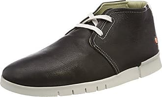 Softinos KIP448SOF Smooth, Zapatillas Altas para Mujer, Schwarz (Black), 42 EU