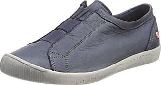 Softinos Trey Washed - Zapatillas para Hombre, Color Azul - Blau (Navy 000), Talla 43