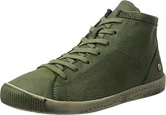 ICA388SOF Smooth/Suede, Zapatillas para Mujer, Blau (Navy/Dk.Grey), 43 EU Softinos