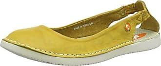 Softinos Ion446Sof, Ballerines Femme, Jaune (Yellow/Yellow 003), 36 EU
