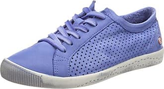 Softinos Ica388sof Été Lavés, Chaussures Femmes, Blau (bleu Lavande), 37 Eu