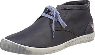 Indira Washed, Sneaker a Collo Alto Donna, Blau (Lavender Blue), 38 EU Softinos