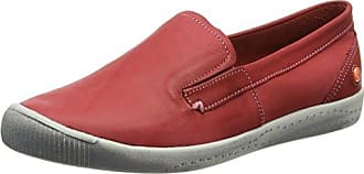 Sioux Grashopper-D-141 Cotton-Print, Mocassins (Loafers) Femme - Rouge - Rot (Melone), 37 EU