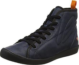 softinos IZI399SOF Smooth, Baskets Hautes Femme, (DK Brown 001), 41 EU