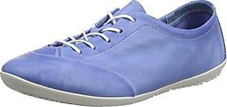 Softinos Ops421sof Lavé, Oxford Chaussures À Lacets Pour Les Femmes, Bleu (marine), 40 Eu