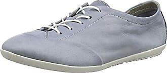 OPS421SOF Washed, Zapatos de Cordones Oxford para Mujer, Azul (Denim), 36 EU Softinos