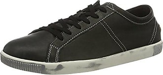 Softinos TOM Smooth, Zapatillas para Hombre, Negro (Black 525), 43 EU