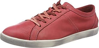 Softinos Tom Washed, Zapatillas para Hombre, Rot (Red), 43 EU