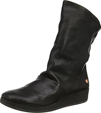 Ann417Sof, Botas para Mujer, Negro (Black 000), 39 EU Softinos