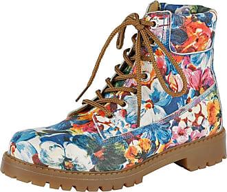 Haute Dentelle Chaussure Souple Floral Multicolore Marche oubjX