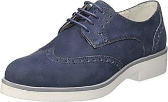 Soldini 19765-S-S67, Zapatos de Cordones Brogue para Hombre, Azul (BLU BLU), 45 EU