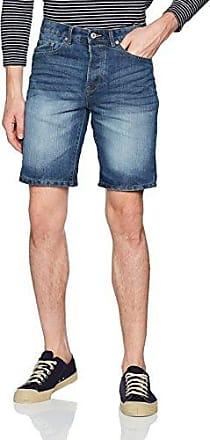 Str Fred Talla Pantalones Lt Cortos Hombre M Para Shorts Denim RqPU4n