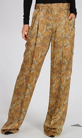 silk Leo Printed Pants Fall/winter Sonia Rykiel Outlet Inexpensive Kplq9