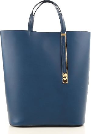 Tote Bag On Sale, Black, Leather, 2017, one size Sophie Hulme
