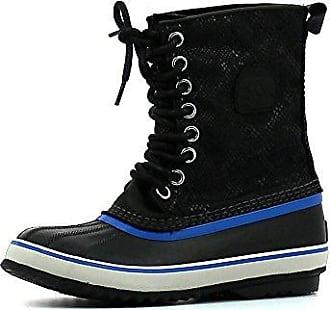 Sorel Slimpack 1964 Blau-Schwarz, Damen Winterstiefel & -schuh, Größe EU 38.5 - Farbe Collegiate Navy-Black %SALE 30% Damen Winterstiefel & -schuh, Collegiate Navy - Black, Größe 38.5 - Blau-Schwarz
