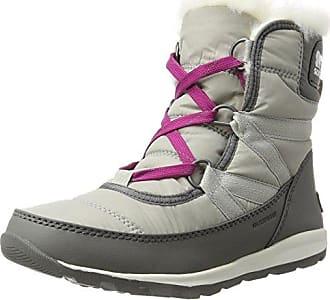 Sorel Damen Whitney Short Lace Sneaker, Grau (Quarry), 37.5 EU