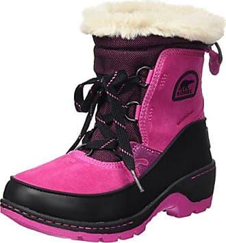 Sorel Youth Flurry, Botas de Nieve para Niñas, Morado (Paisley Purple/Black), 35 EU