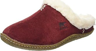 Sorel Nakiska Slide Damen Pantoffeln, Grün (Nori/Dark Stone), 39 EU, NL1612