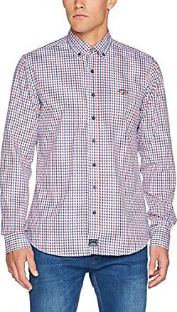 114109647015, Polo Homme, Multicolore (Marino/Rojo/Blanco 695501), Large(Taille Fabricant:Large)SPAGNOLO