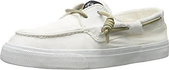 Bahama 2-Eye Washed, Damen Sneakers, Weiß (White), 39 EU (5.5 Damen UK) Sperry Top-Sider