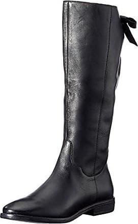 SPM Haut Ankle Boot, Zapatillas de Estar por Casa para Mujer, Negro (Black/Black), 41 EU