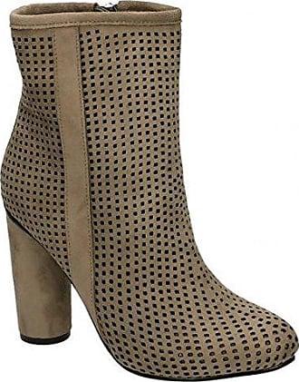 Spot on Damen Ankle Boots (40 EU) (Schwarz) jn3tYf