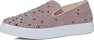 Diamante Flat Trainers Shoes Black Suede Style SZ 4 Spylovebuy tYtZW5pUN