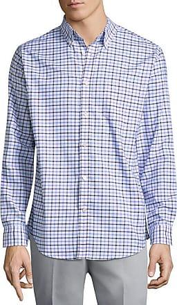St. John's Bay St. Johns Bay Long Sleeve Checked Button-Front Shirt