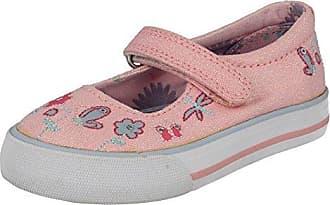 Start Rite Mädchen Edith Canvas Mary Jane Halbschuhe, Pink (Pink Multi Floral 6138_6), 27 EU